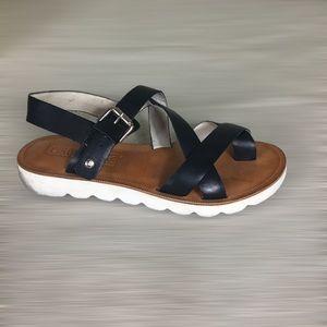 Pikolinos black sandals Sz 7